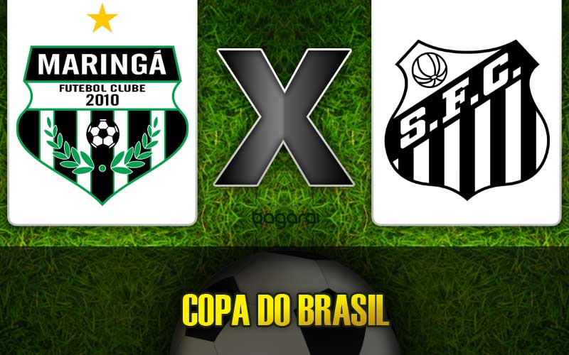 Maringá e Santos FC empatam em jogo pela Copa do Brasil 2015
