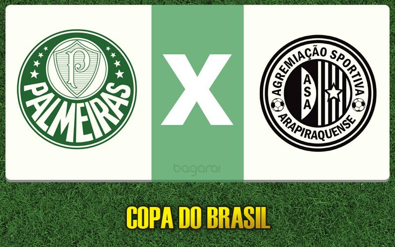 Sem gols, Palmeiras e ASA pela Copa do Brasil 2015 fica no 0 a 0
