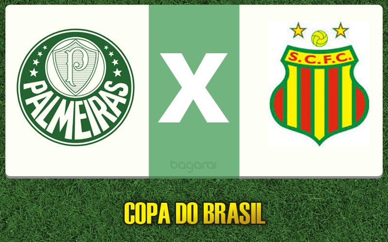 Resultado do jogo: Palmeiras goleia Sampaio Corrêa pela Copa do Brasil 2015