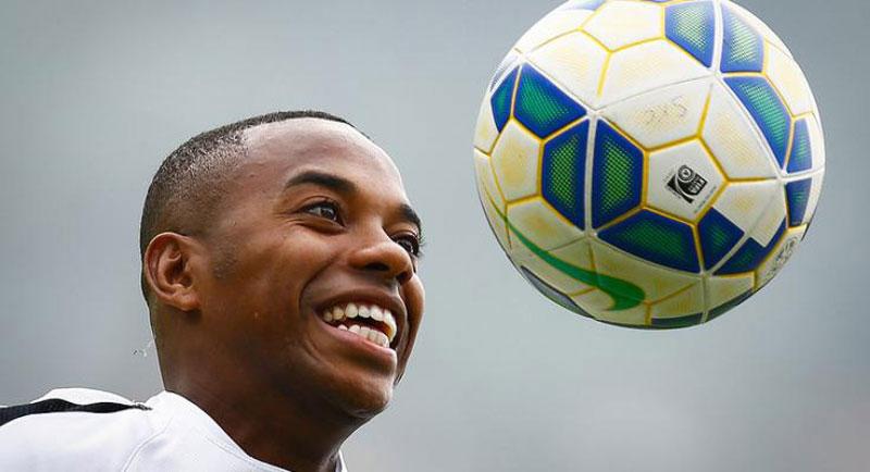 Robinho deve fazer bonito pelo Santos FC contra Sport pela Copa do Brasil 2015