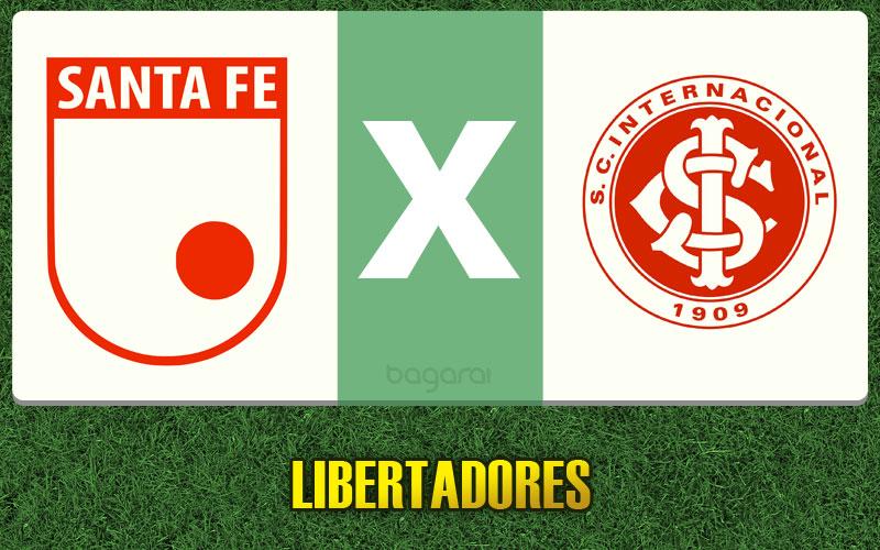 Santa Fé vence Internacional pela Libertadores 2015, assistir resultado do jogo de hoje