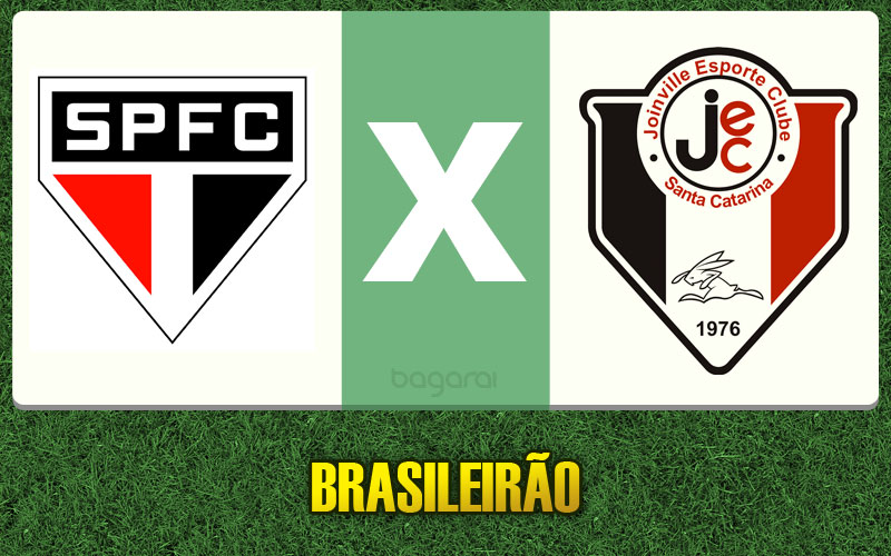 São Paulo FC vence Joinville pelo Brasileirão 2015