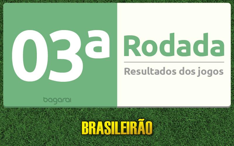 Tabela do Brasileirão 2015 e resultados dos jogos da 3ª rodada