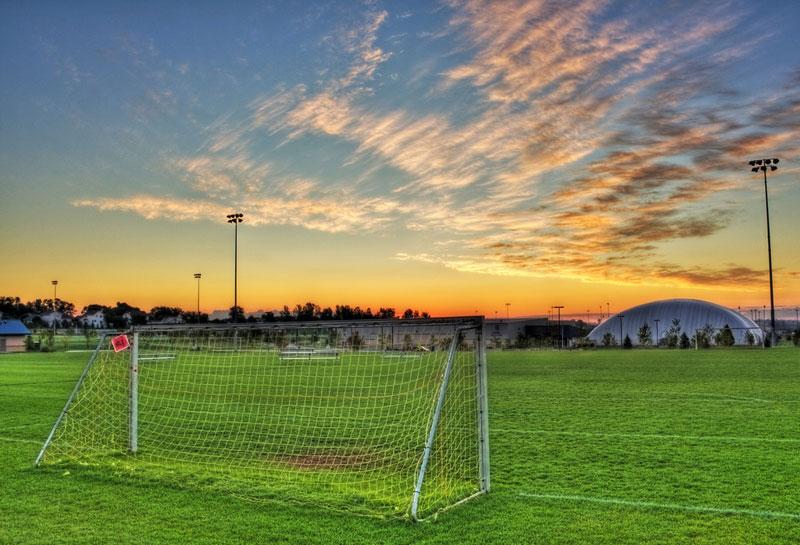 Campo de futebol (Foto: Jim Denham / Flickr)