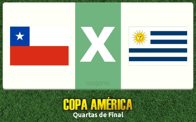 Chile vence Uruguai e chega na Semifinal da Copa América 2015