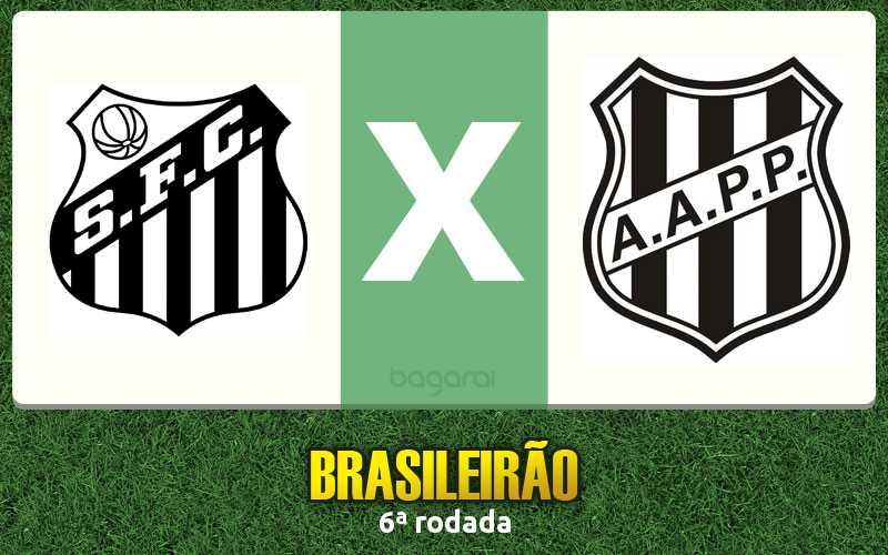 Resultado do jogo entre Santos FC e Ponte Preta fica em 2 a 2 pelo Brasileirão 2015