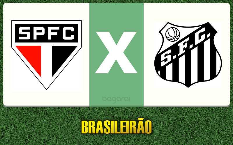 São Paulo FC vence Santos FC pelo Brasileirão 2015, resultado do jogo