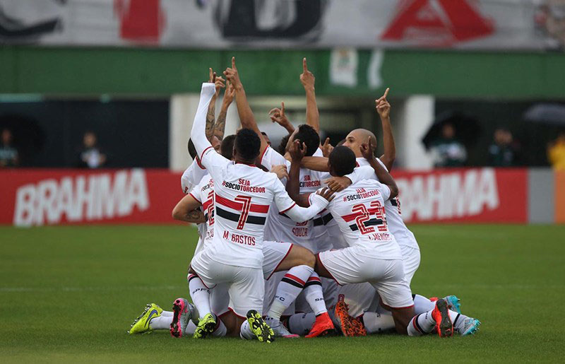 Notícias do São Paulo FC são boas, o líder da tabela do Brasileirão 2015