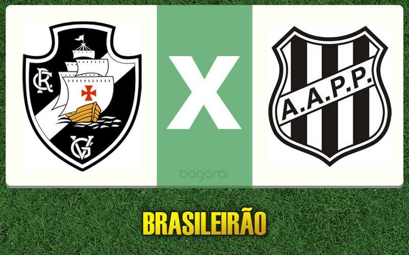 Ponte Preta mete 3 a 0 no Vasco da Gama pelo Brasileirão 2015, resultado do jogo de hoje