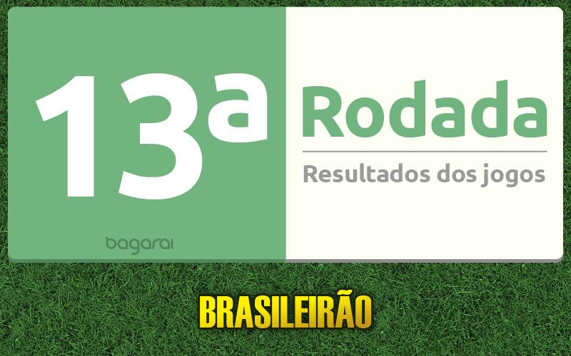 Tabela do Brasileirão 2015 e resultados dos jogos da 13ª rodada do Campeonato Brasileiro 2015