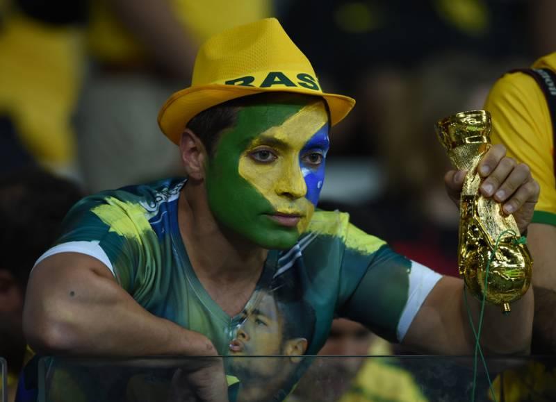 Torcedor após o jogo (foto: Bruno Domingos / Mowa Press)