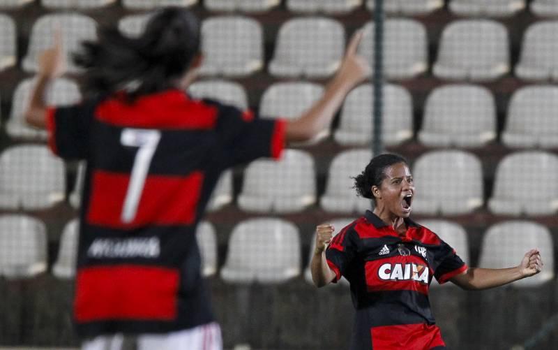Flamengo vence o América-MG pelo Brasileirão Feminino 2015