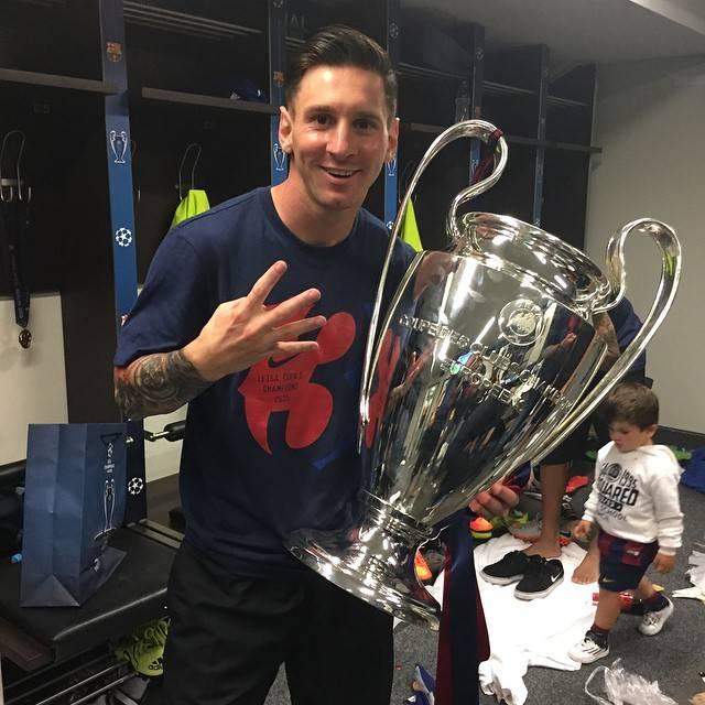 Conheça o segredo da tatuagem do Messi