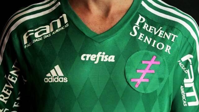 Você sabe o que esse símbolo na camisa do Palmeiras? Entenda