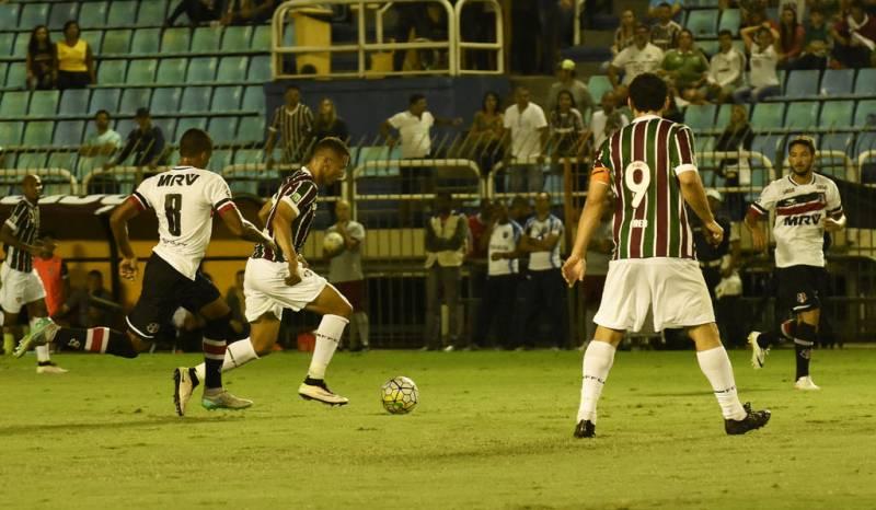 Fluminense e Santa Cruz empatam pelo Campeonato Brasileiro 2016