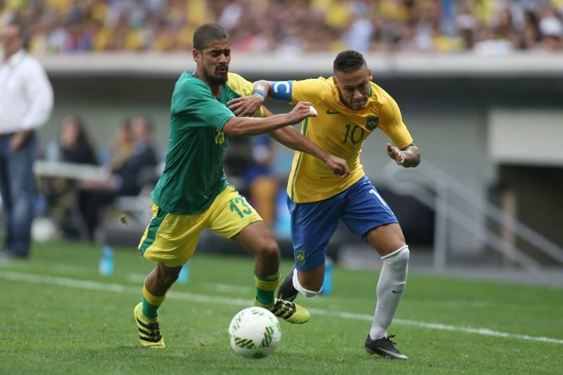 Olimpíadas: Brasil empata com África do Sul