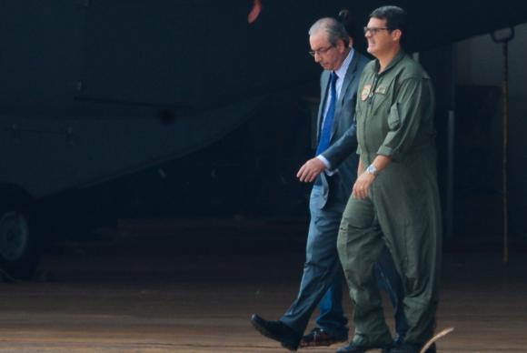 Após decisão de Sérgio Moro, Eduardo Cunha é preso em Brasília