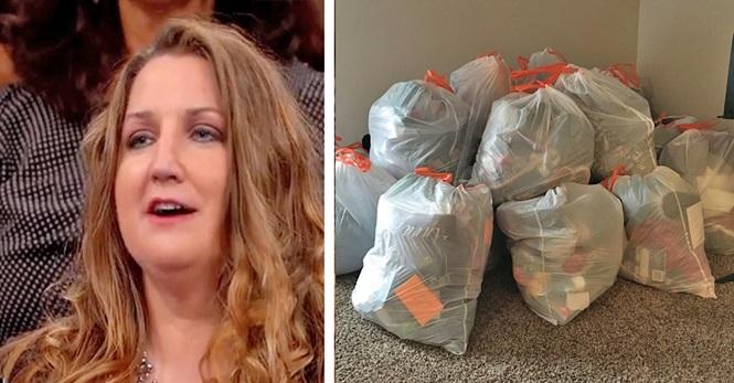 Mãe revolta joga no lixo os pertences de adolescente relaxada