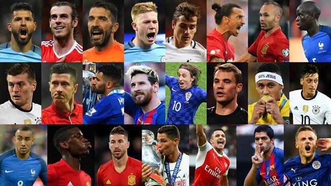 Quem foi o melhor jogador do ano? Neymar está na lista de indicados da FIFA