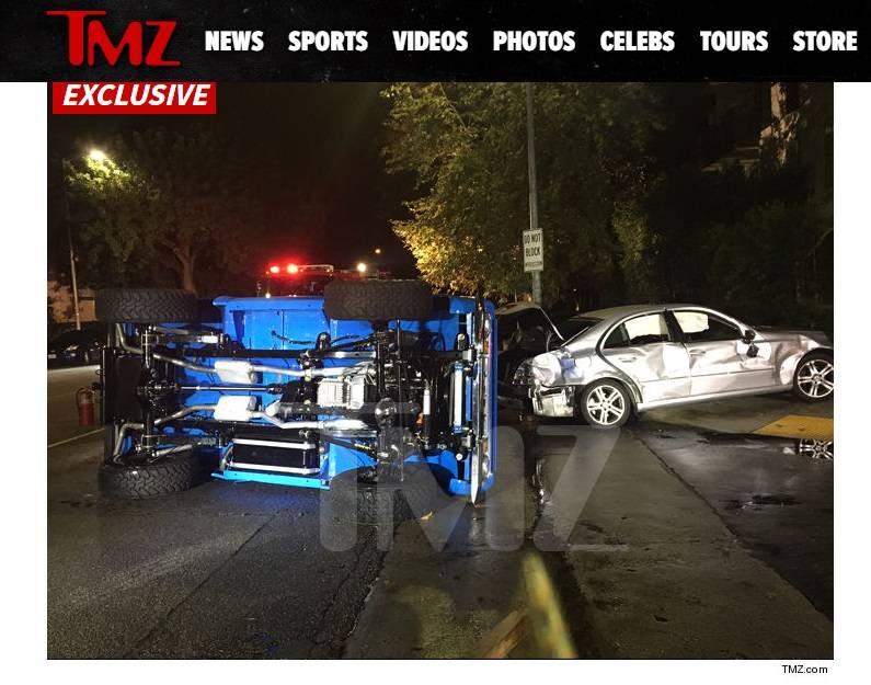 Miles Teller sofre acidente com carro famoso no instagram
