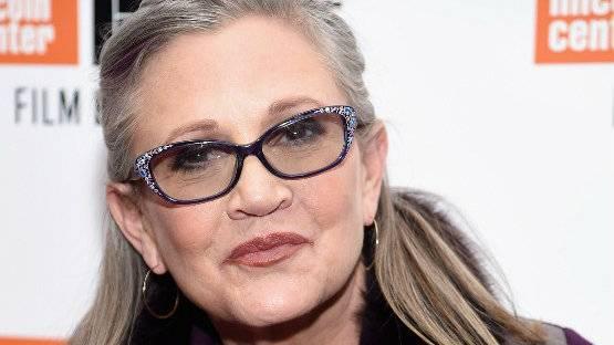 Carrie Fisher, a Princesa Leia, morreu aos 60 anos
