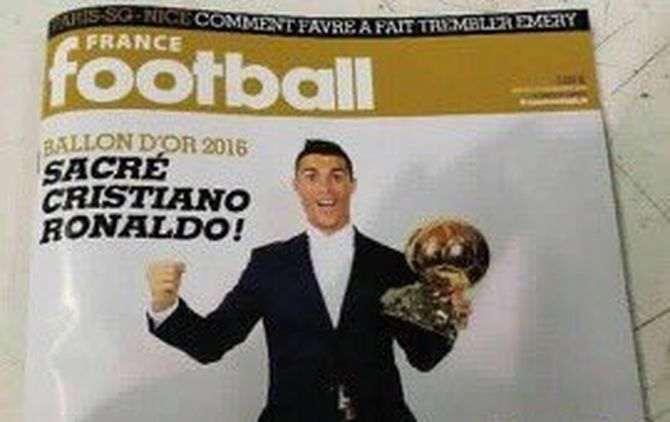 Cristiano Ronaldo deve ser ganhador da Bola de Ouro 2016
