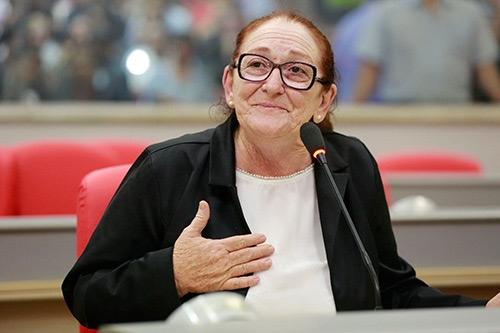 Deputada Lúcia Tereza morreu aos 70 anos