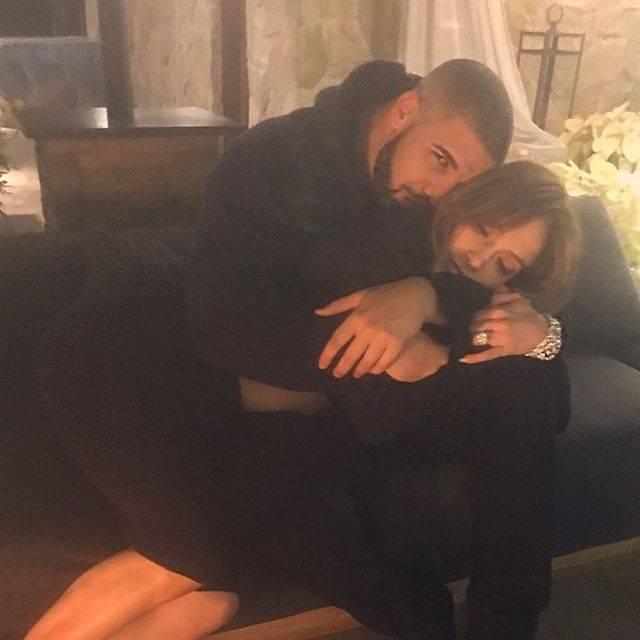 No Instagram, Jennifer Lopez e Drake aparecem juntos; Rihanna não gostou