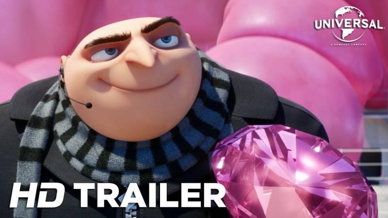 Assista o trailer de Malvado Favorito 3, conheça o novo vilão