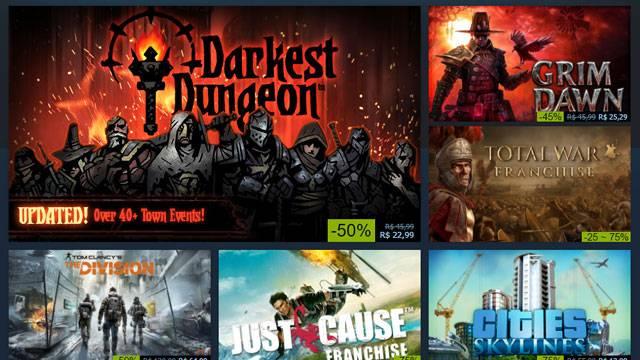 Jogo online: começou a promoção de fim de ano do Steam 2016