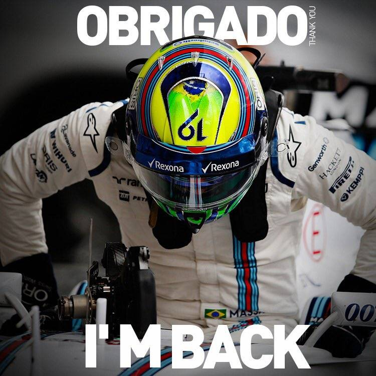 ‪‪Williams F1 anuncia volta de ‪Felipe Massa