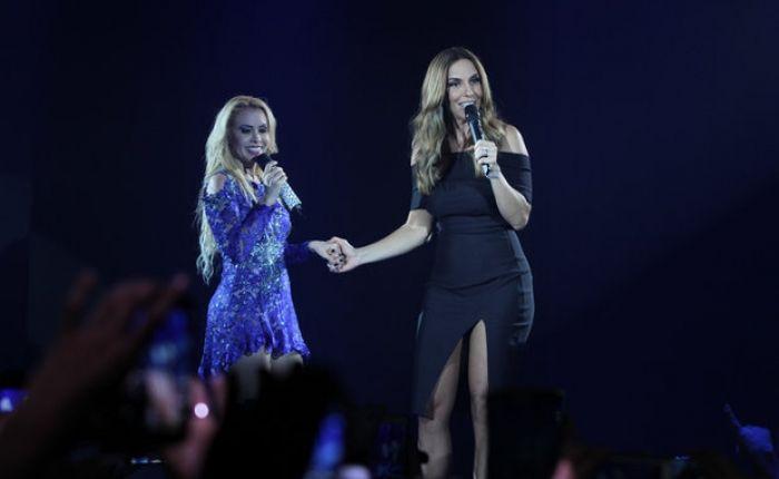 Assista Joelma e Ivete Sangalo cantando juntas em vídeo