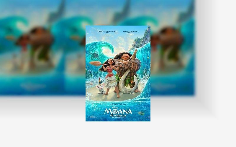 Moana é Vaiana em alguns lugares do mundo. Filme está em cartaz no Brasil