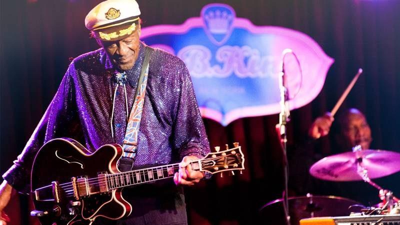 Chuck Berry morreu aos 90 anos