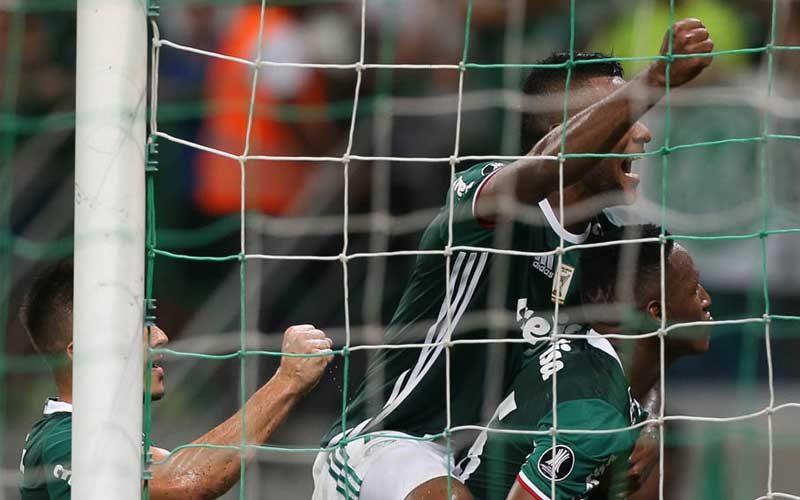 Palmeiras ganha do Jorge Wilstermann pela Libertadores 2017