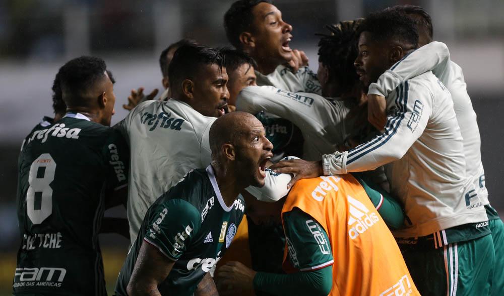 Palmeiras ganha do Santos pelo Campeonato Paulista 2017