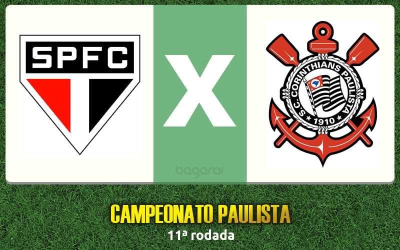 Campeonato Paulista 2017: São Paulo FC e Corinthians empatam em 1 a 1, Resultado do jogo de hoje