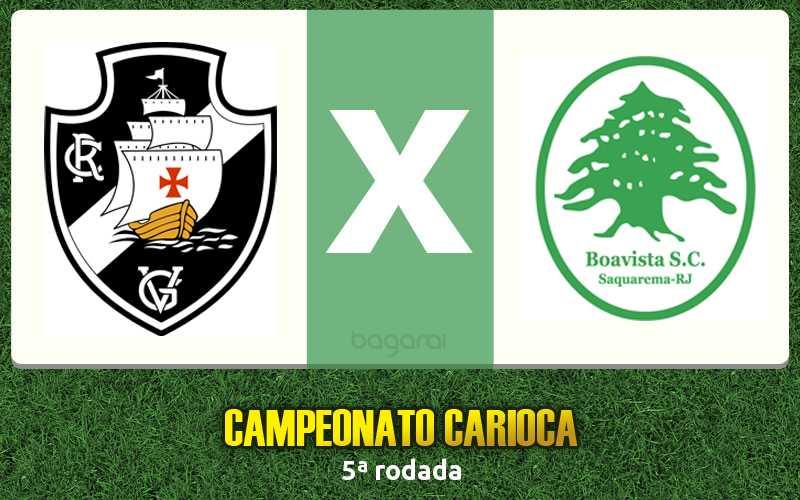 Vasco ganha do Boavista pelo Campeonato Carioca 2017