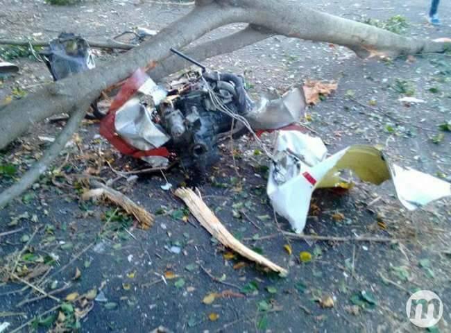 Acidente de avião em Cassilândia deixa vítimas