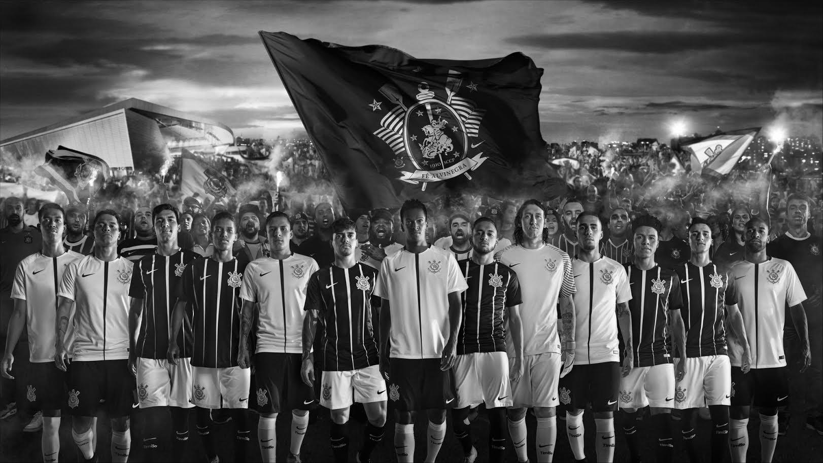 Novo uniforme do Corinthians 2017 é inspirado por São Jorge