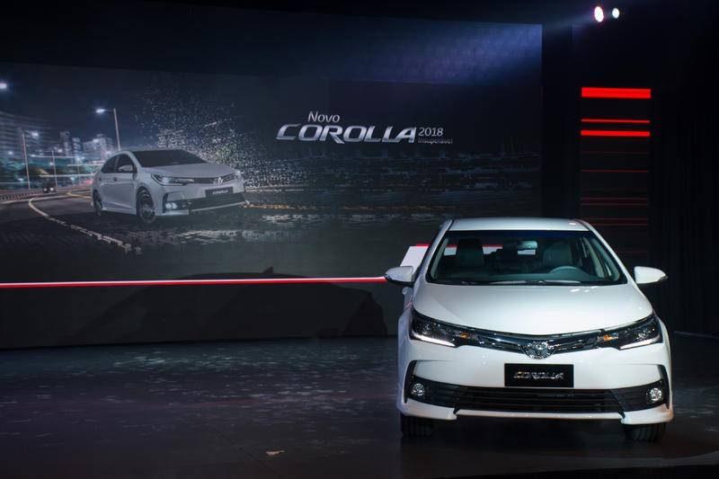Confira as novidades do novo Toyota Corolla 2018 no Brasil