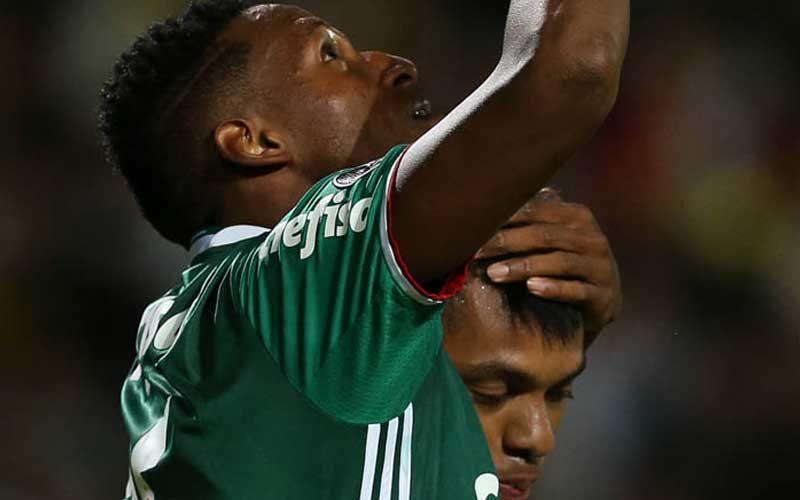 Palmeiras vira sobre Peñarol pela Libertadores 2017