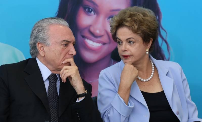 Chapa Michel Temer e Dilma Rousseff será julgada