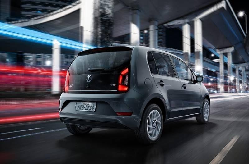 Conheça as novidades do novo VW up! 2018