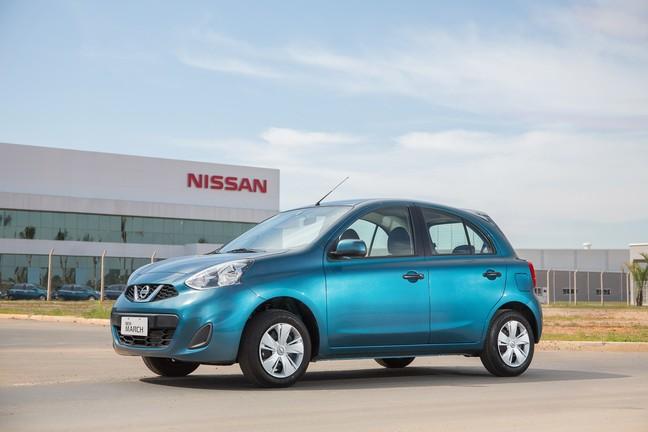 Preço do Nissan March faz dele um ótimo carro para o dia a dia