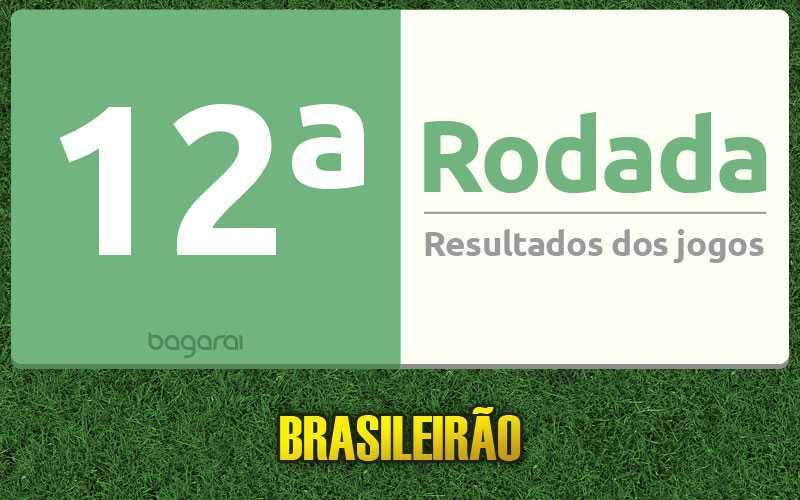 Confira os resultados da 12ª rodada, tabela do Brasileirão 2016