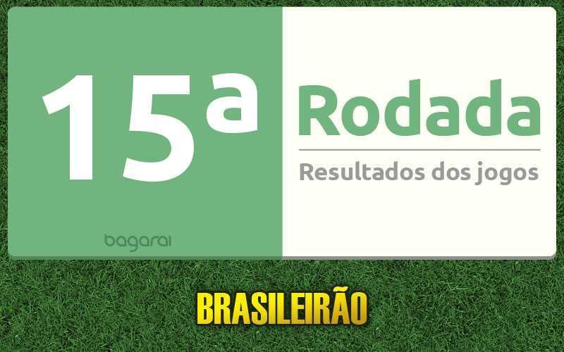 Confira os resultados da 15ª rodada, tabela do Brasileirão 2016