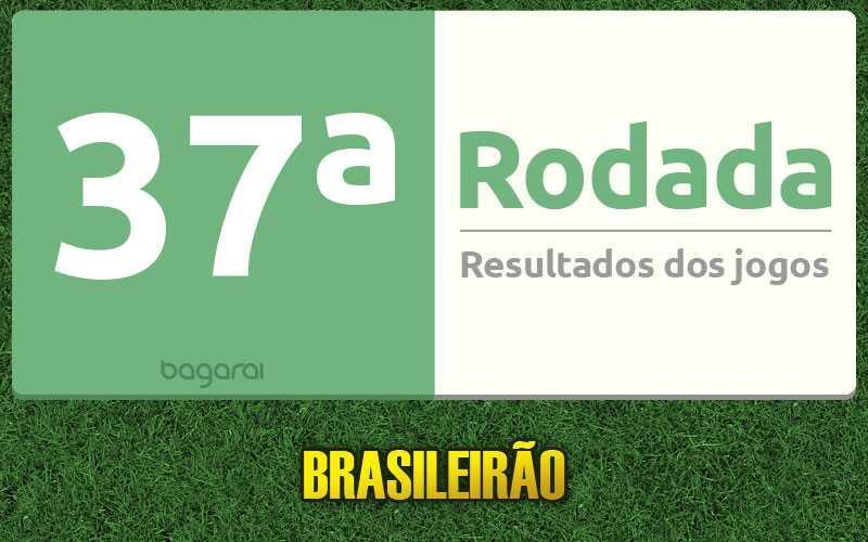 Confira os resultados da 37ª rodada, tabela do Brasileirão 2016