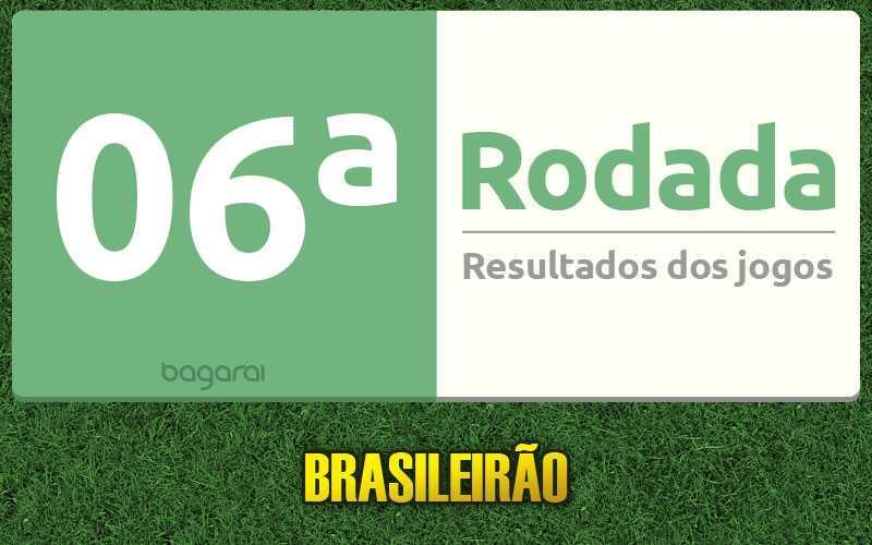 Tabela do Campeonato Brasileiro 2017: Confira os resultados da 06ª rodada