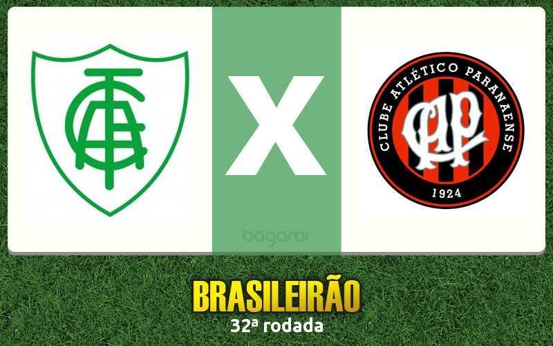 América-MG vence Atlético Paranaense pelo Campeonato Brasileiro 2016 por 1 a 0
